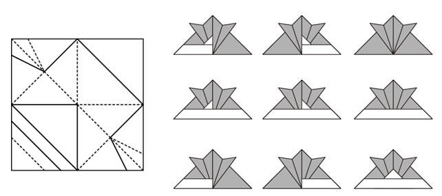 折り紙の 鶴の折り紙の折り方 : mitani.cs.tsukuba.ac.jp